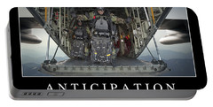Anticipation Inspirational Quote Portable Battery Charger