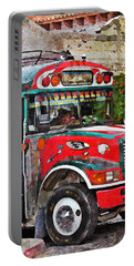 Antigua Bus Stop Portable Battery Charger