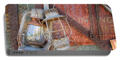 Antique Kerosene Lamps Portable Battery Charger