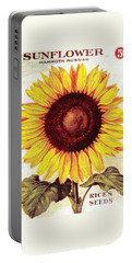 Antique Sunflower Seeds Pack Portable Battery Charger