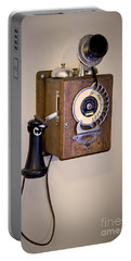 Antique Telephone Portable Battery Charger