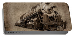 Antique Train Portable Battery Charger by Doug Long