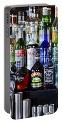 Portable Battery Charger featuring the photograph Anyone For A Drink 2 by Maj Seda