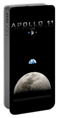 Apollo 11 First Man On The Moon Portable Battery Charger