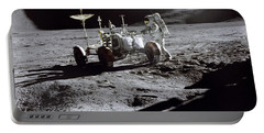 Apollo 15 Lunar Rover Portable Battery Charger by Commander David Scott