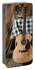 Appalachian Music Portable Battery Charger by Heather Applegate