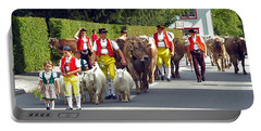 Appenzell Parade Of Cows Portable Battery Charger