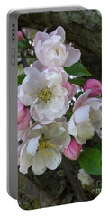 Apple Blossom Bouquet Portable Battery Charger