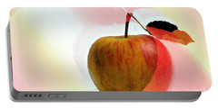 Apple Peel Portable Battery Charger
