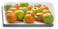 Portable Battery Charger featuring the photograph Apples And Oranges by Lee Avison