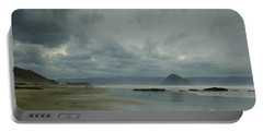 Approaching Storm - Morro Rock Portable Battery Charger