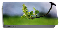 April Blossom Portable Battery Charger