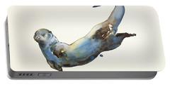 Aqua Portable Battery Charger by Mark Adlington