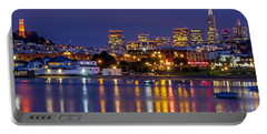 Aquatic Park Blue Hour Portable Battery Charger