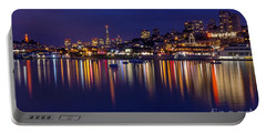 Aquatic Park Blue Hour Wide View Portable Battery Charger