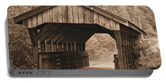 Arabia Mountain Covered Bridge Portable Battery Charger