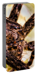 Arachnophobia Portable Battery Charger by Bob Orsillo