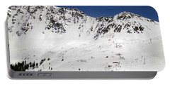 Arapahoe Basin Ski Resort - Colorado          Portable Battery Charger by Fiona Kennard