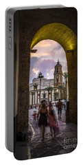 Arc Of The Rose Cadiz Spain Portable Battery Charger