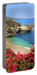 Arch Rock And Beach Laguna Portable Battery Charger