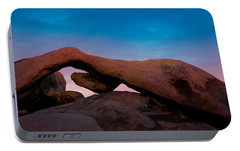 Arch Rock Evening Portable Battery Charger by Stephen Stookey