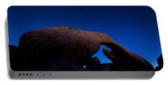 Arch Rock Starry Night Portable Battery Charger by Stephen Stookey