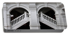 Arch Staircase Balustrade And Columns Portable Battery Charger