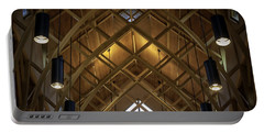 Arched Trusses - University Of Florida Chapel On Lake Alice Portable Battery Charger