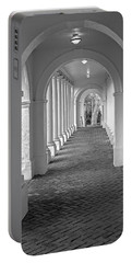 Arches At The Rotunda At University Of Va 2 Portable Battery Charger by Jerry Gammon