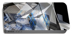 Architectural Abstract Portable Battery Charger