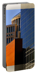 Architectural Stone Steel Glass Portable Battery Charger