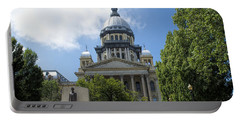Illinois State Capitol  - Luther Fine Art Portable Battery Charger