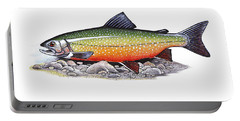 Arctic Char Male Portable Battery Charger