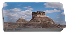 Portable Battery Charger featuring the photograph Arizona Desert And Mesa by Jeff Goulden