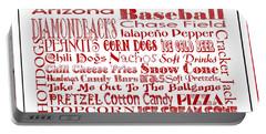 Arizona Diamondbacks Game Day Food 3 Portable Battery Charger