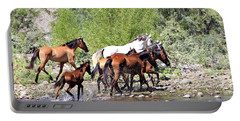 Arizona Wild Horse Family Portable Battery Charger