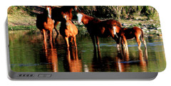 Arizona Wild Horses Portable Battery Charger