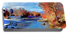 Arkansas River In Salida Co Portable Battery Charger