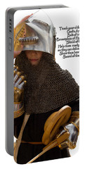 Armor Of God Portable Battery Charger