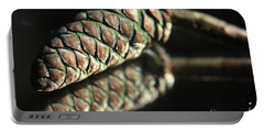Armored Pine Cone Portable Battery Charger