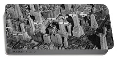 Army Air Corp Over Manhattan Portable Battery Charger