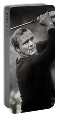 Arnold Palmer Pro-am Golf Photo Pebble Beach Monterey Calif. Circa 1960 Portable Battery Charger
