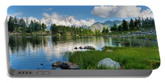 Arpy Lake - Aosta Valley Portable Battery Charger
