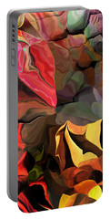 Portable Battery Charger featuring the digital art Arroyo  by David Lane