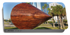 Portable Battery Charger featuring the photograph Art 2009 At Sarasota Waterfront by Christiane Schulze Art And Photography
