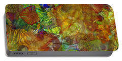 Art Glass Overlay Portable Battery Charger by Tikvah's Hope