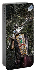 Art In The Weeds Portable Battery Charger by Melinda Ledsome