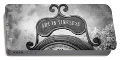 Art Is Timeless Portable Battery Charger