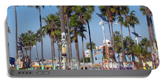 Art Of Venice Beach Portable Battery Charger