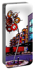 Portable Battery Charger featuring the photograph Art On The Ave by Sadie Reneau